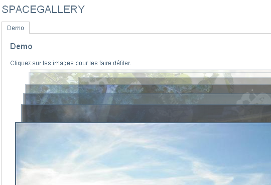 SpaceGallery jQuery
